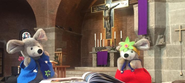 Micki und Mausi, die Kirchenmäuse der Erlöserkirche
