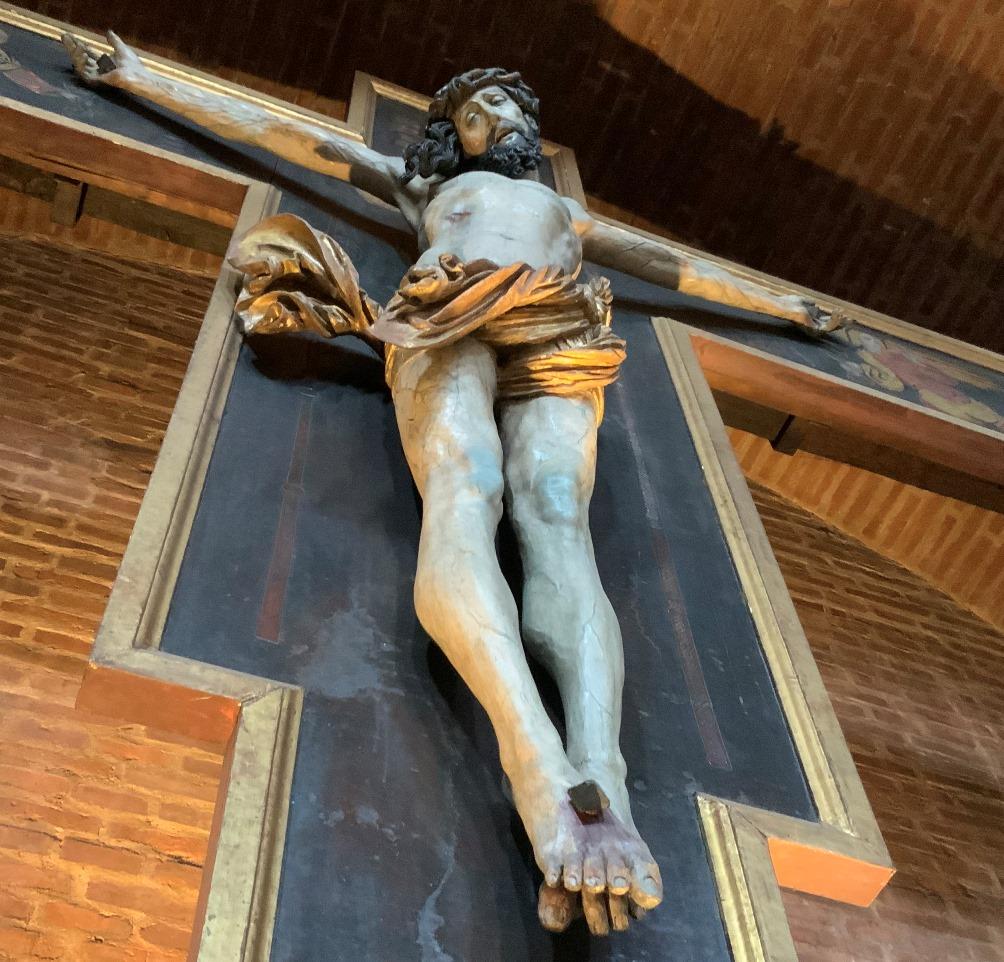 Erlöser am Kruzifix