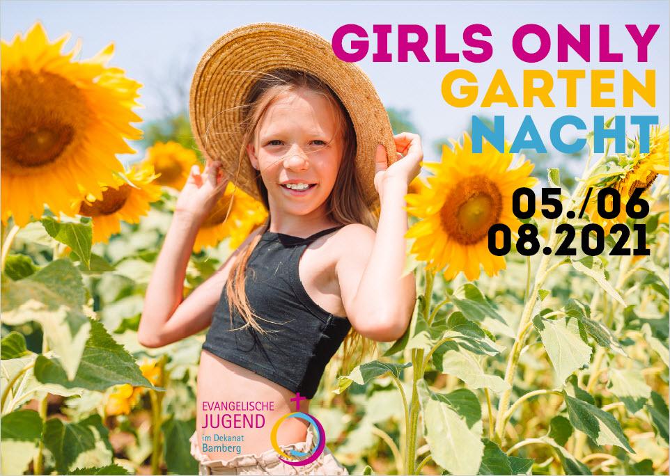 Girls Only Garten Nacht der EJ Bamberg