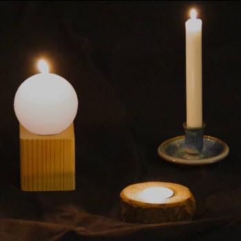 Nachtwache Kerzen