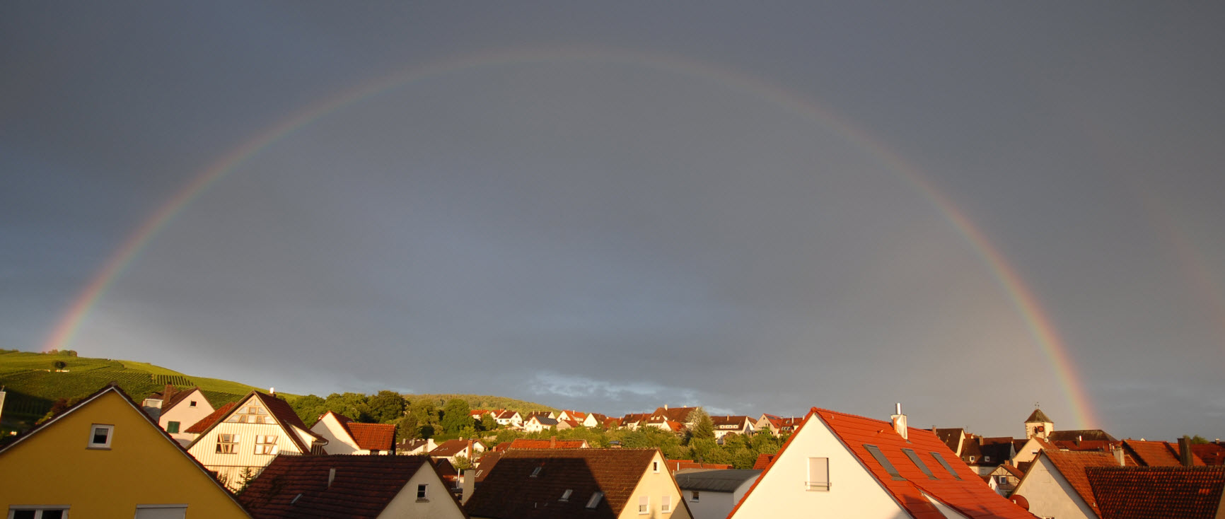Sommer Regenbogen